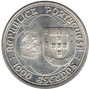 1000 Escudos (D. João II) – obverse