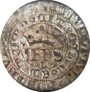 Real of 10 soldos - João I (Big disk; Lisboa mint) – obverse