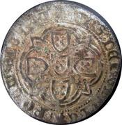 Real of 10 soldos - João I (Big disk; Lisboa mint) – reverse