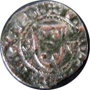 ½ Real Atípico - João I (€-V; Évora mint) – obverse