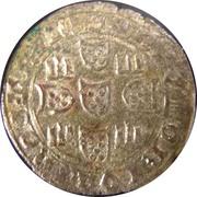 1 Real of 3½ Libras - João I (Lisbon mint) – reverse