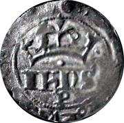 ½ Real Cruzado - João I (Porto mint) – obverse