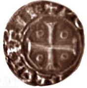 ¼ Real Cruzado - João I (Lisboa mint) – reverse