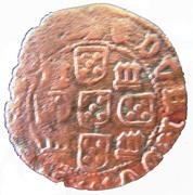 1 Real Preto - Duarte I (Lisboa mint) – reverse