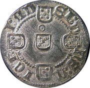 Pilarte Coroado - Fernando I (Lisboa mint) – reverse