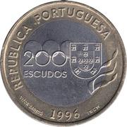 200 Escudos (Olympics) -  obverse