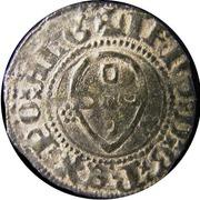 ½ Real Atípico- João I (Porto mint) – obverse