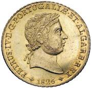 Peça - Pedro IV – obverse