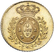 Peça - Pedro IV – reverse