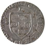 Tornês de Escudo - Fernando I (Lisboa mint) – obverse