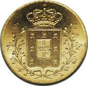 Peça - Maria II – reverse