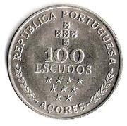 100 Escudos (Azores Regional Autonomy) -  reverse