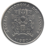 25 Escudos (Azores Regional Autonomy) -  obverse