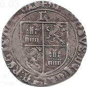 1 Real Grosso - Afonso V (of Castilla & Leon) – reverse