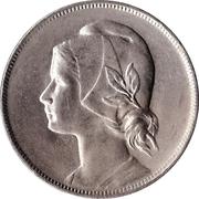 4 Centavos – obverse