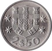 2.50 Escudos -  reverse