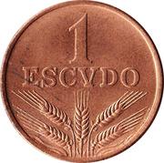 1 Escudo -  reverse
