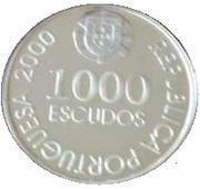 1000 Escudos ( D.João de Castro; Proof issue) – obverse