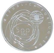 500 Escudos (European Culture Capital; proof issue) – obverse