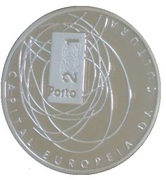 500 Escudos (European Culture Capital; proof issue) – reverse