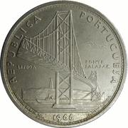 20 Escudos (Salazar Bridge) -  reverse