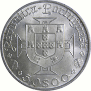 50 Escudos (Vasco da Gama) -  obverse