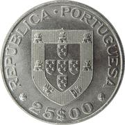 25 Escudos (Alexandre Herculano) -  obverse