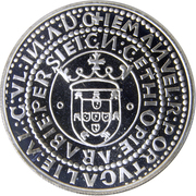 1000 Escudos (XVII European Art Exhibition) – reverse