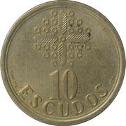 10 Escudos -  reverse