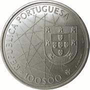 100 Escudos (Discovery of Azores) -  obverse