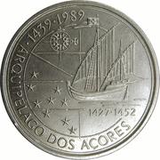 100 Escudos (Discovery of Azores) -  reverse