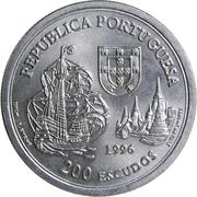 200 Escudos (Kingdom of Siam) -  obverse