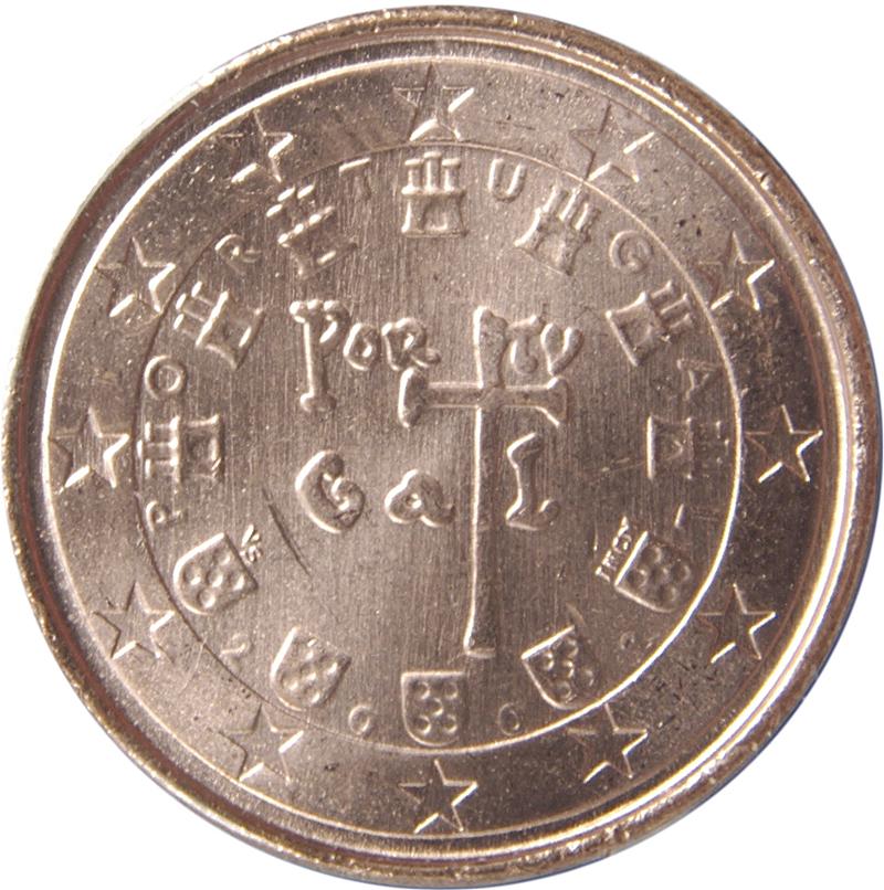 Portugal 1 Euro Münze Stenevise Der Online Euromünzen Katalog
