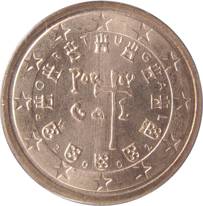 2 Euro Cent Portugal Numista