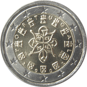 2 Euro (1st map) -  obverse