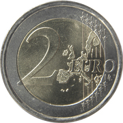2 Euro (1st map) -  reverse