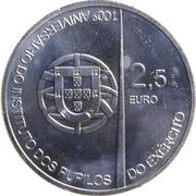 2½ Euro (Army Institute Pupils) -  obverse