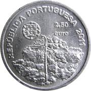 2½ Euro (Vinha da Ilha do Pico) -  obverse