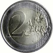 2 Euro (Oporto Clérigos Tower) -  reverse