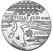 2½  Euro (The Yokes; Silver) -  obverse