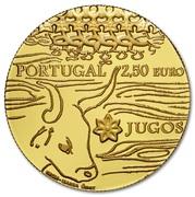 2½ Euro (The Yokes; Gold) -  reverse