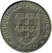 2.50 Escudos (Alexandre Herculano) -  obverse