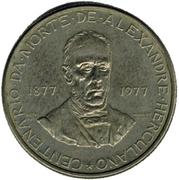 2.50 Escudos (Alexandre Herculano) -  reverse