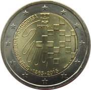 2 Euro (Portuguese Red Cross) -  obverse