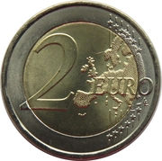 2 Euro (Portuguese Red Cross) -  reverse