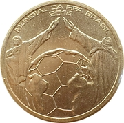 2½ Euro (Football World Cup Brazil) -  reverse