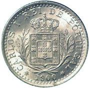 100 Réis - Carlos I -  obverse