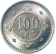 100 Réis - Carlos I -  reverse