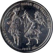 1000 Escudos (Pauliteiros Dancers) – reverse