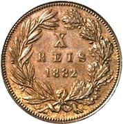 10 Réis - Luíz I -  reverse